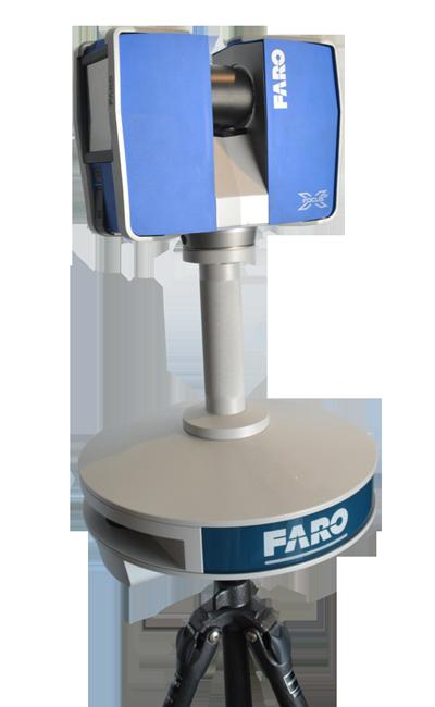 3D laser scanner faro to BIM