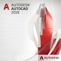 Autodesk AutoCAD 2019 box shot