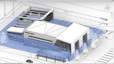 Revit 2019 - Medical Center Building Model