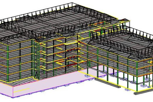 Sample BIM model for LOD 100-200