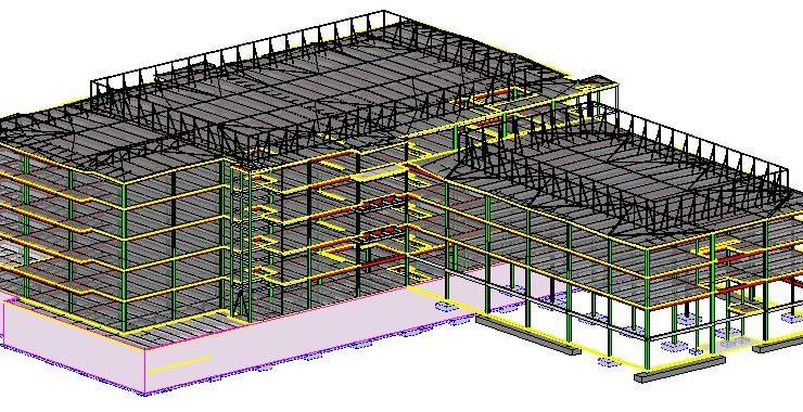 Sample BIM model for LOD 100-200