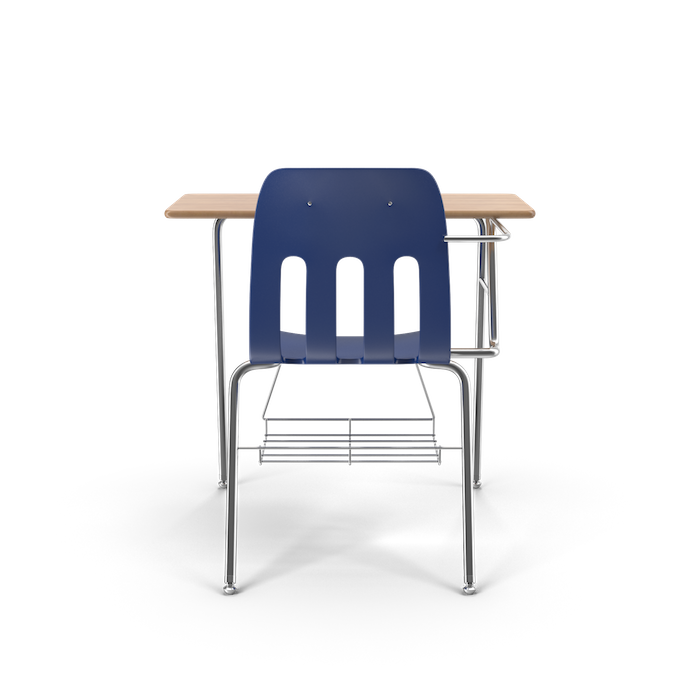 A rendering of a school desk
