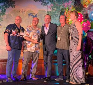 2019 ASA San Diego Award presentation for Affiliate of the Year - Kelar Pacific