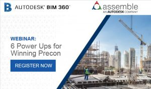 autodesk webinar image including the assemble software solution.