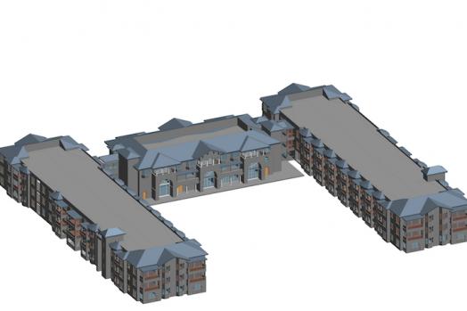 BIM model of the Silvergate project