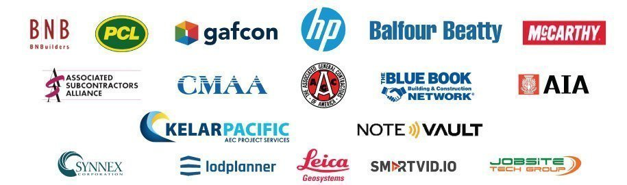 company logos of Construct-Con supporters