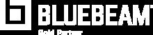 Bluebeam Gold Partner logo in white
