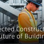 Autodesk Connected Construction webinar image with man on construction site with a tablet