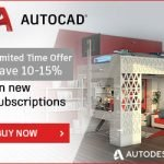 autocad promo - 10-15% off new subscriptions