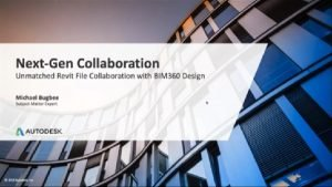 Webinar image - next gen collaboration wtih BIM 360 Design