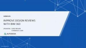 Webinar image for Improve design reviews with BIM 360
