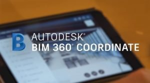 mobile device with BIM 360 Coordinate logo