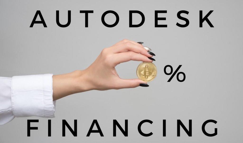 Autodesk 0% Financing