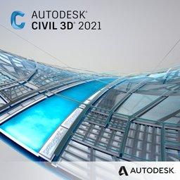 Autodesk Civil 3D 2021 logo