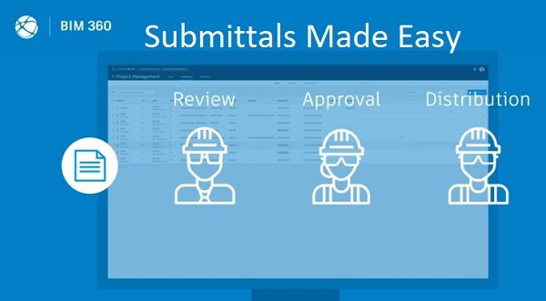 Autodesk BIM 360 submittals