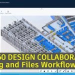 BIM 360 Design Collaboration screen shot showing a 3D model (copyright BNIM)
