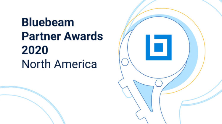 Bluebeam Gold Partner of the Year Award slide